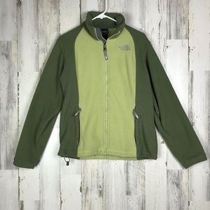 The North Face | Zip Up Fleece Jacket Large